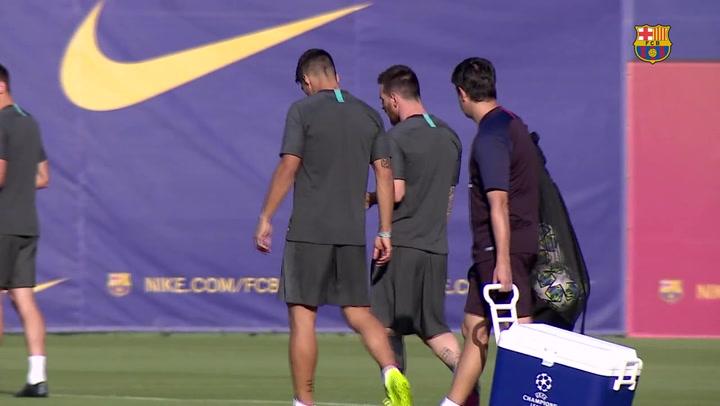 Messi y Dembélé novedades en la convocatoria ante el Inter