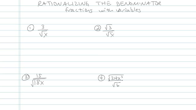 Rationalizing the Denominator with Higher Roots - Problem 4