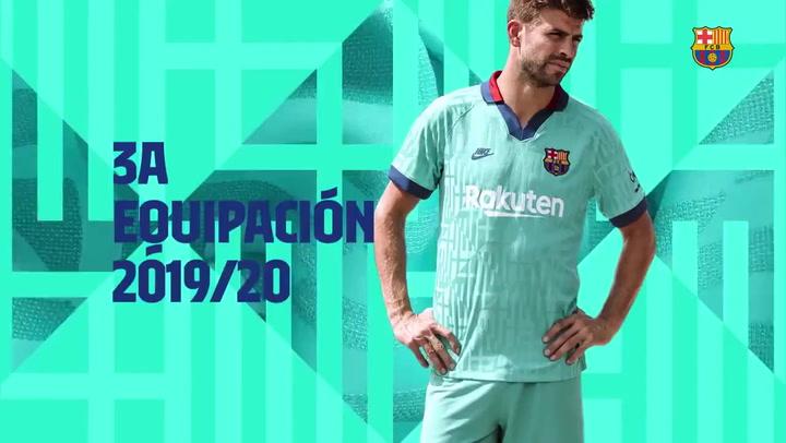 Así es la campaña de presentación de la tercera equipación del FC Barcelona