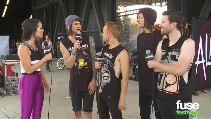 """Blessthefall Talks """"Hollow Bodies"""" & Playing the Main Stage at Warped Tour 2013"""