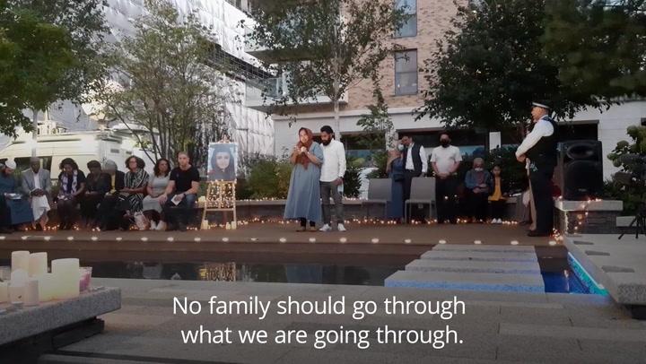 Sabina Nessa vigil: Sister breaks down as she pay tribute to London teacher