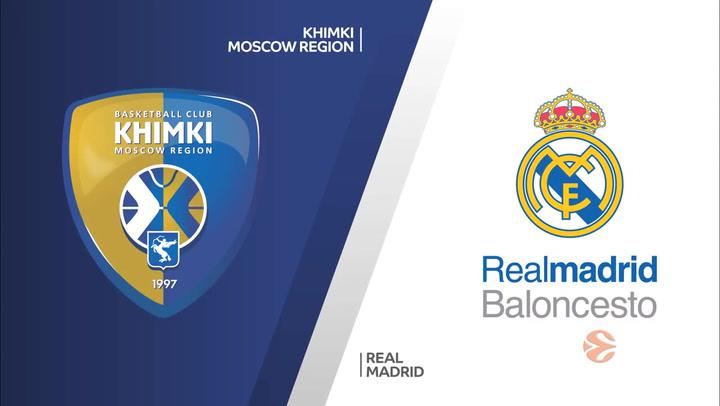 Euroliga: Khimki Moscú - Real Madrid