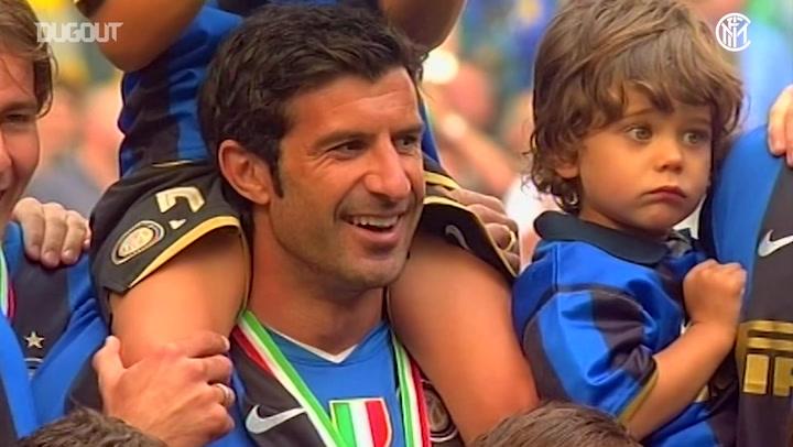 The final game of Luis Figo's career