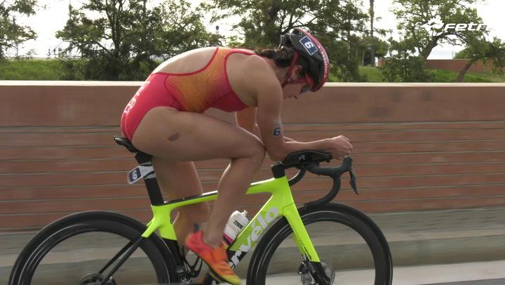 La francesa Mathilde Gautier se impone en la Copa de Europa de triatlón sprint