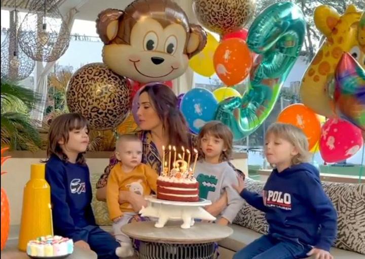Pilar Rubio celebra el tercer cumpleaños de su hijo Alejandro