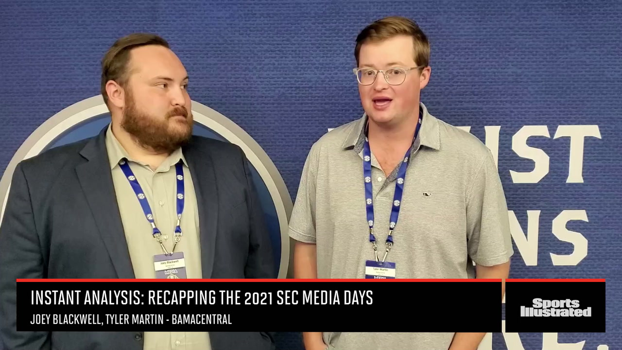 Instant Analysis: Recapping the 2021 SEC Football Media Days