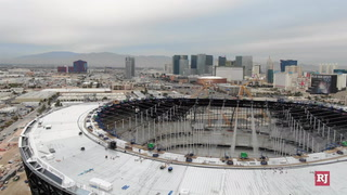 Allegiant Stadium roof completion date pushed back yet again – Video