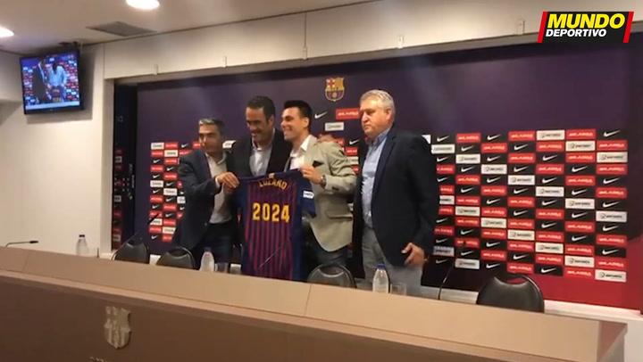 Entrevista a Sergio Lozano, jugador del FC Barcelona de fútbol sala