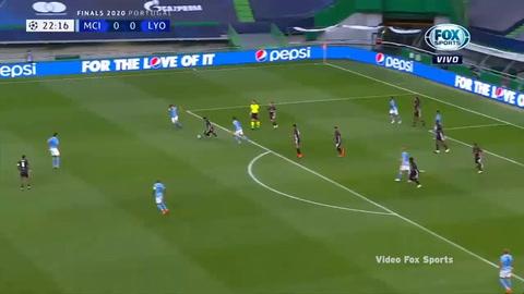 Manchester City 1-3 Lyon (Champions League 2020)