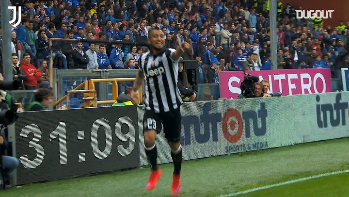 Juventus' best recent goals at Sampdoria