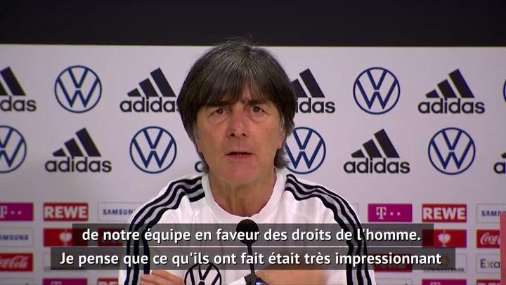 Allemagne - Löw félicite ses joueurs pour leur engagement