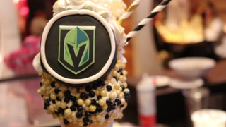 Black Tap In Las Vegas Makes This Instagram-ready Golden Knights Shake (Janna Karel Las Vegas Review-journal)