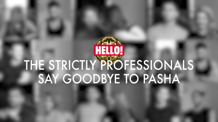 Strictly Pros Say Goodbye To Pasha