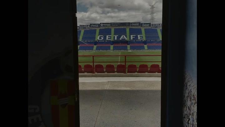 El Getafe Club de Fútbol se cambia de nombre para pedirle al mundo que no pierda la Fe