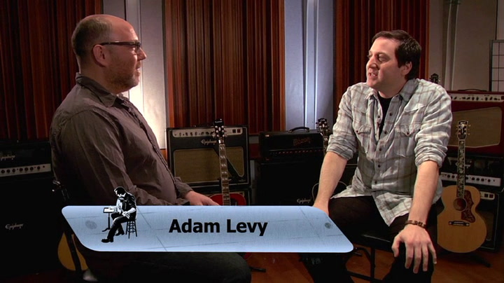 Adam Levy is interviewed on The Jimmy Lloyd Songwriter Showcase