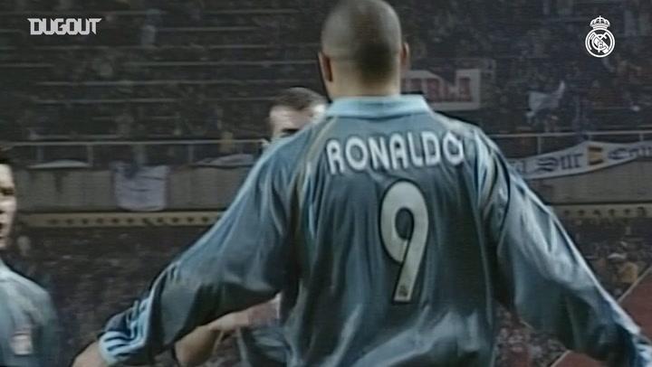 Ronaldo Nazario's brace against Espanyol
