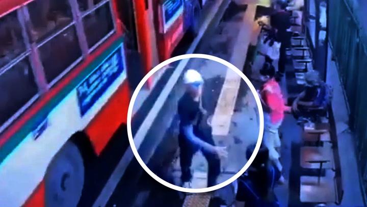 เปิดใจสาว โดนคนเร่ร่อนหัวลำโพง คุกคามทางเพศ-ชกหน้า กลางป้ายรถเมล์