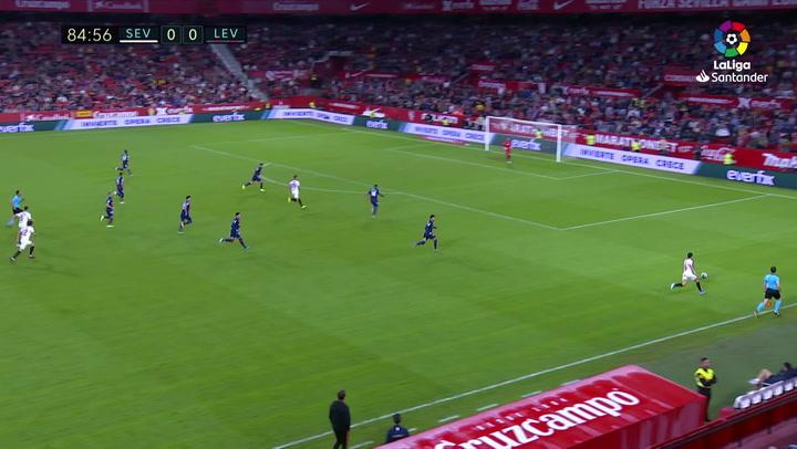 Gol de De Jong (1-0) en el Sevilla 1-0 Levante