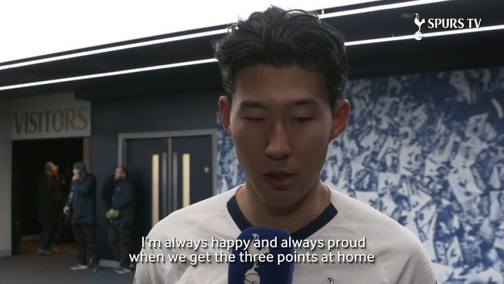 Heung-Min Son: 'I feel amazing scoring this kind of goal'