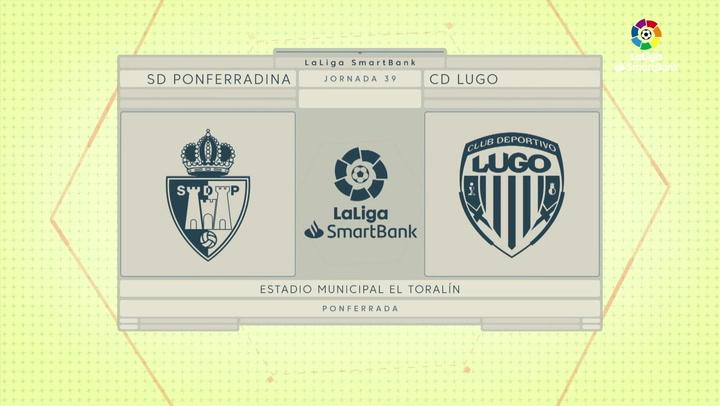 LaLiga SmartBank (J39): Resumen y gol del Ponferradina 0-1 Lugo