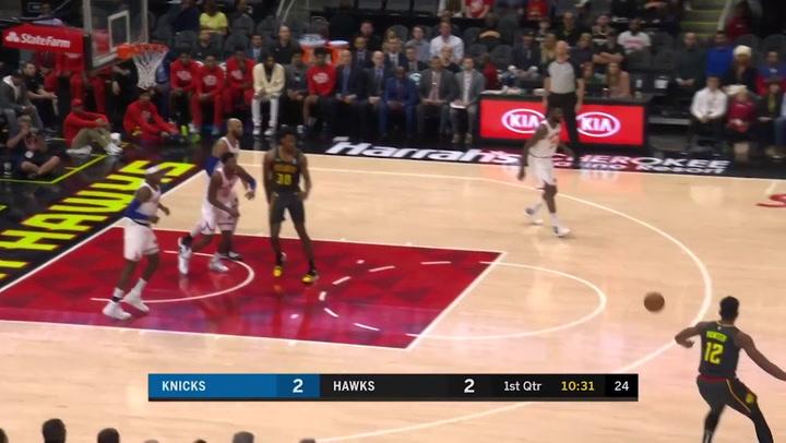 Trae Young (Hawks), el más destacado de la jornada de la NBA del 9 de febrero 2020