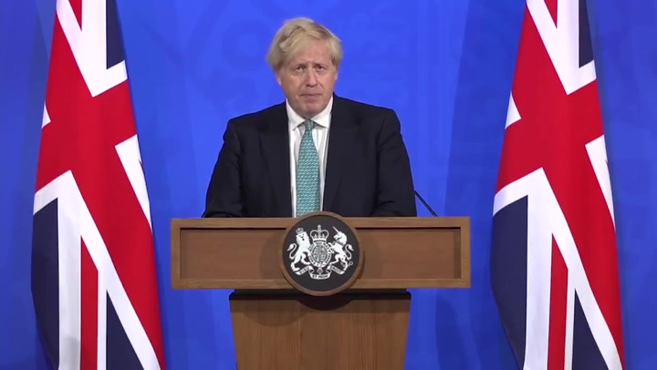 Boris Johnson warns India variant could delay 21 June stage of lockdown exit plan