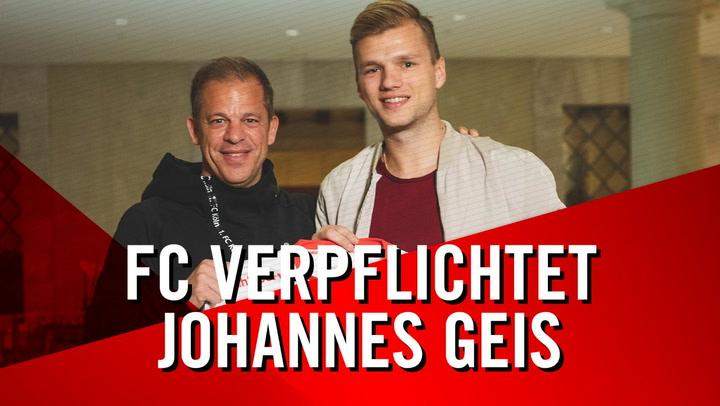 Johannes Geis wechselt zum FC