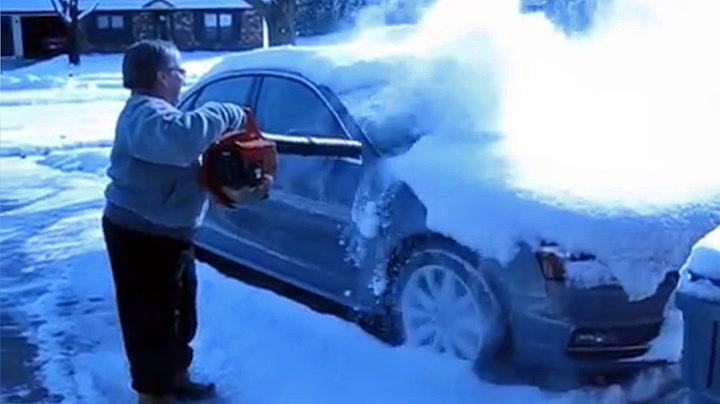 Slik får du snøfri bil i en fei