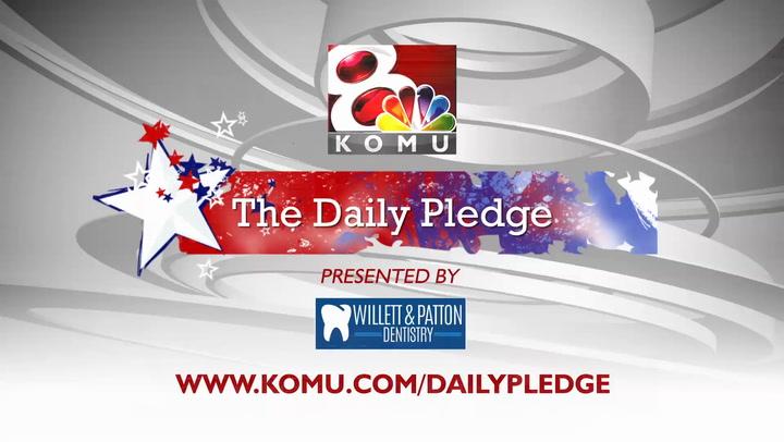 Daily Pledge - Cedar Ridge Elementary School - Eaton
