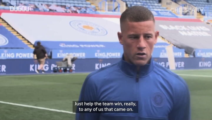 Ross Barkley benefiting from Frank Lampard's goalscoring know-how