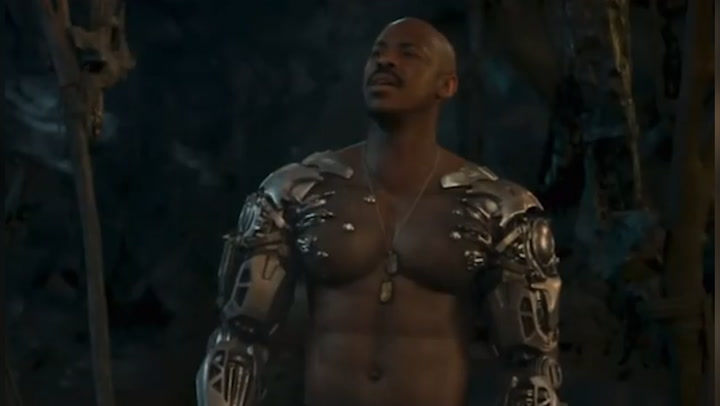 Watch Mortal Kombat\'s Mehcad Brooks in action