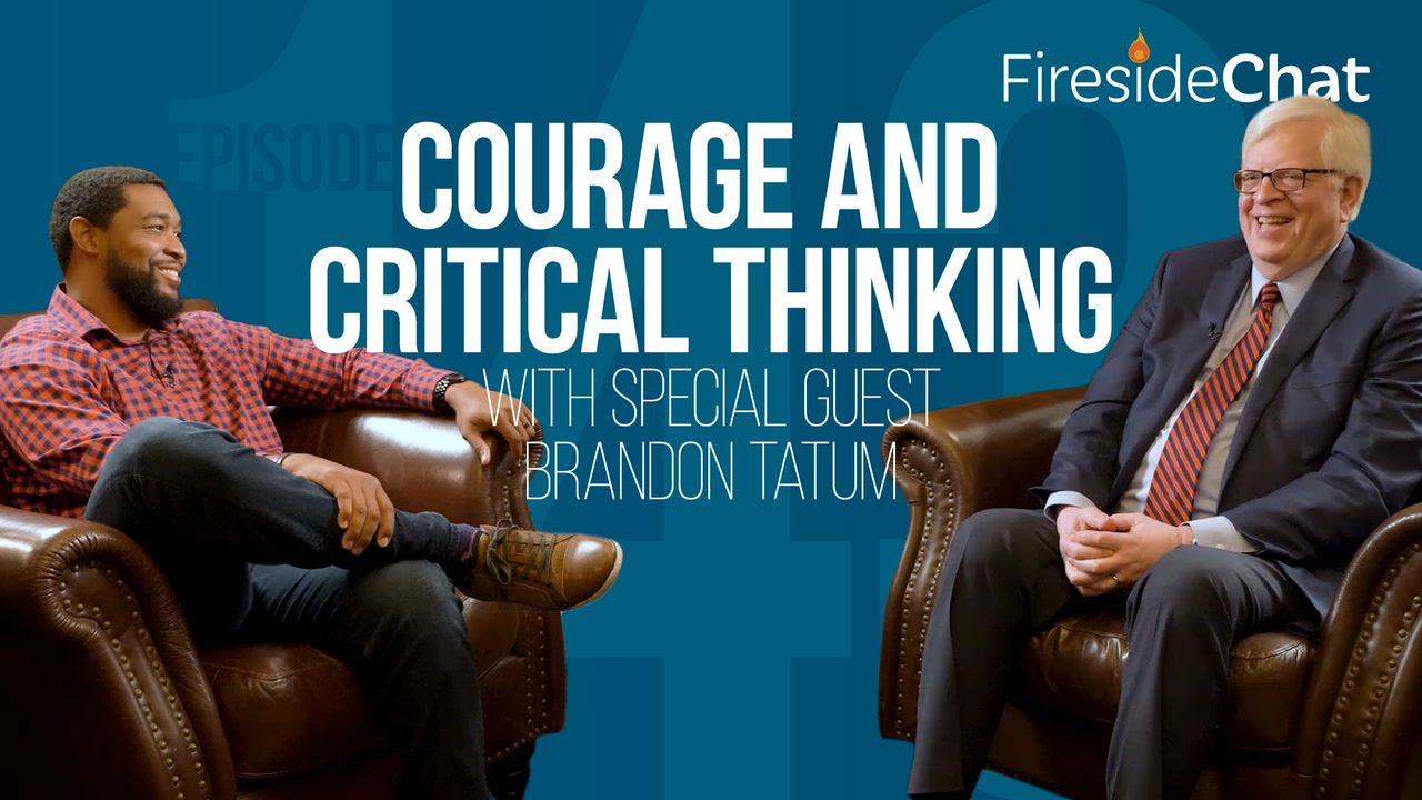 Ep. 143 — Courage and Critical Thinking With Special Guest Brandon Tatum