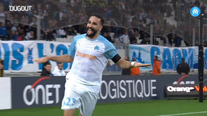 Olympique de Marseille's top three goals vs Dijon