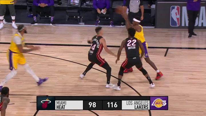 Resumen del primer partido de la final de la NBA, el 30 de septiembre de 2020