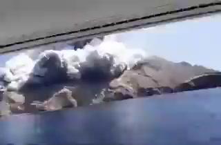Al menos 5 muertos en erupción del volcán Whakaari en Nueva Zelanda