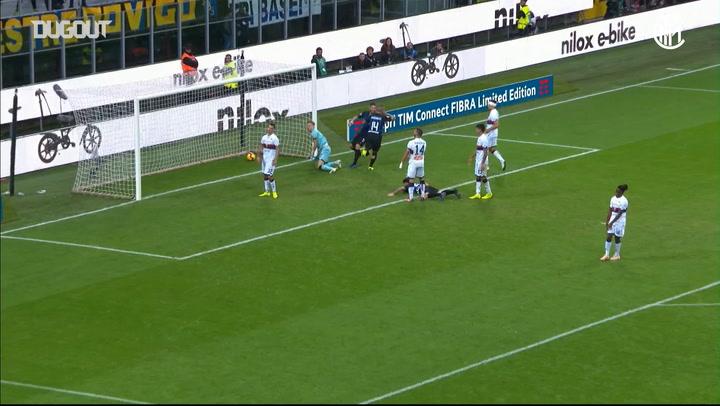 Radja Nainggolan makes it five against Genoa
