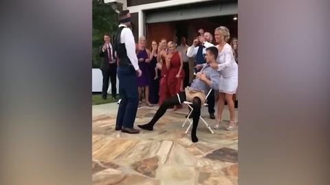 Novio es víctima de pesada broma en su propia boda
