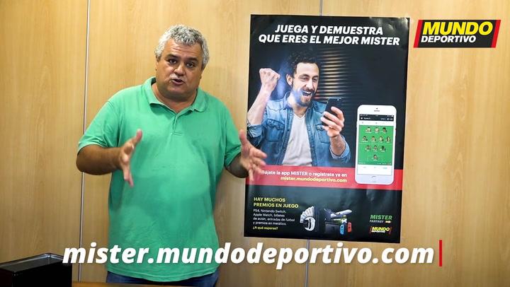 Joan Poquí nos muestra su once ideal para la Liga Mister