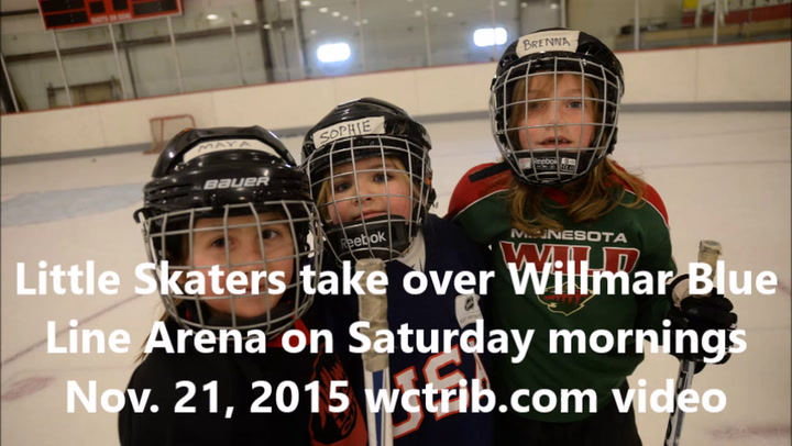 Little Skaters at Willmar Civic Center's Blue Line Arena