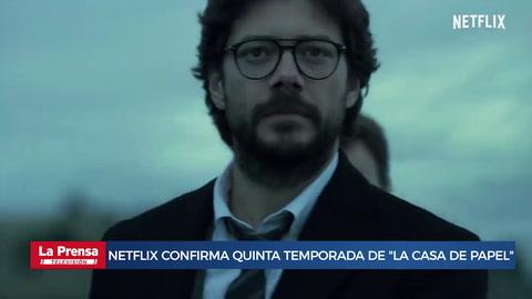 Netflix confirma quinta temporada de