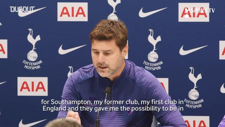 Mauricio Pochettino: Southampton reunion will be 'special'