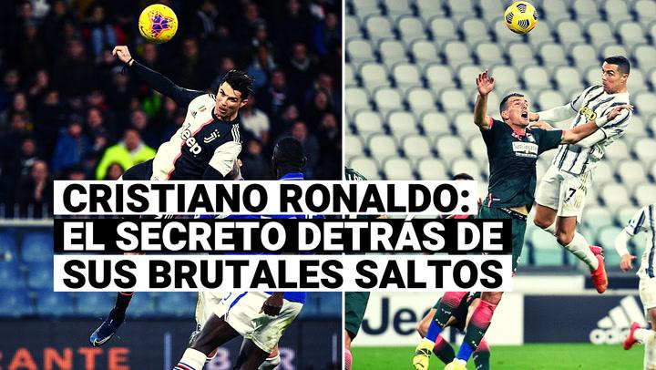 Cristiano Ronaldo: El secreto detrás de sus impresionantes saltos