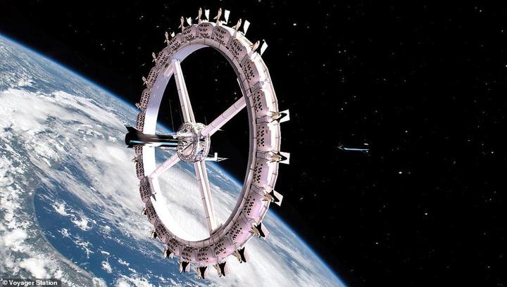 El primer hotel espacial estará dando vueltas a la Tierra a partir de 2027