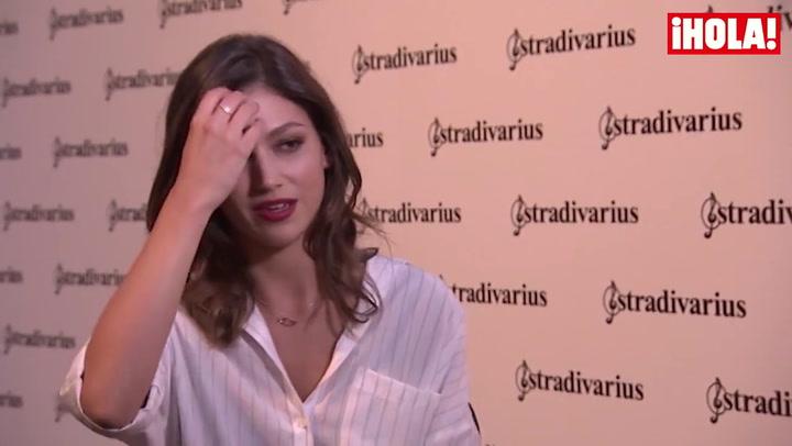 Úrsula Corberó asegura estar \'muy feliz\' y elogia a su novio Andrés Velencoso: \'Es un actorazo. Tiene un talento increíble\'