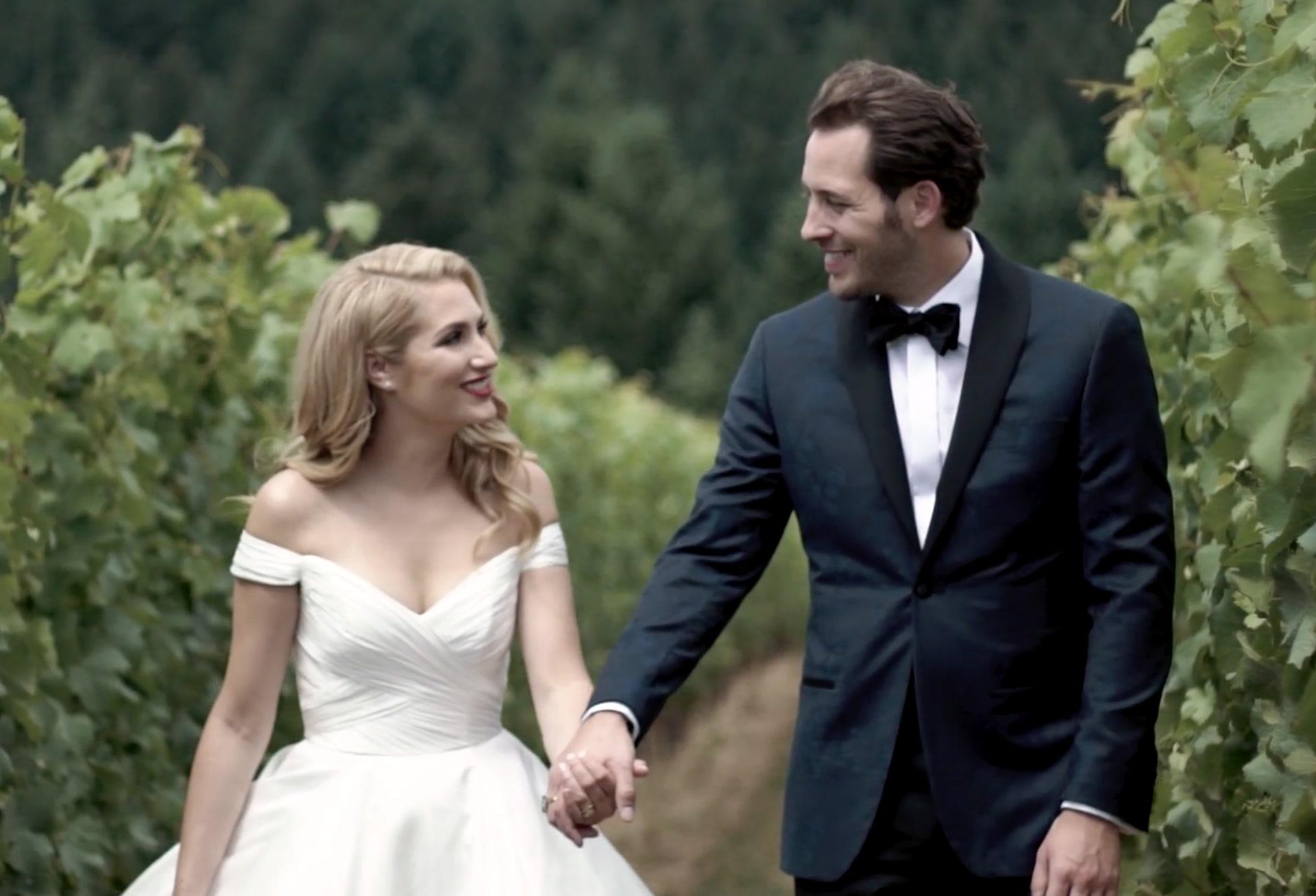 Emma + Dustin | McMinnville, Oregon | Soter Vineyards