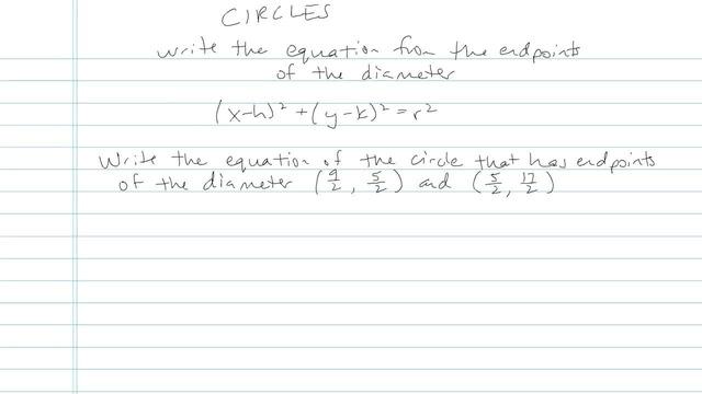The Circle - Problem 7