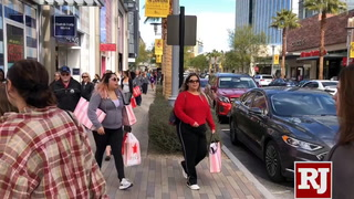 Black Friday Shoppers at downtown Summerlin and at the Arsenal