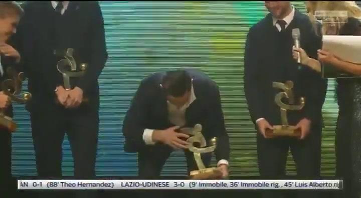 Cristiano Ronaldo se lleva el título de mejor jugador de la Serie A italiana