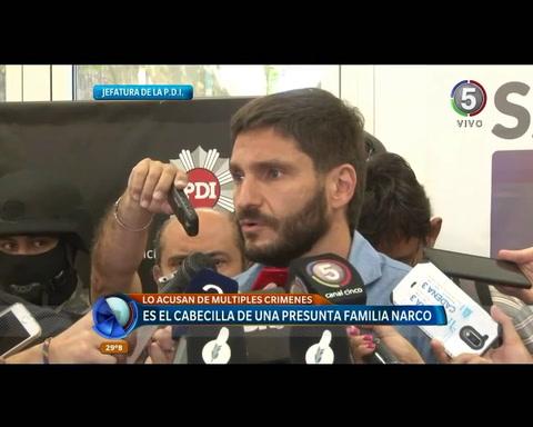 Pullaro destacó la labor de inteligencia para detener a un delincuente muy peligroso como Funes
