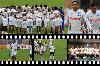 Bromas, risas y mucha emoción en el entrenamiento de la Selección de Honduras